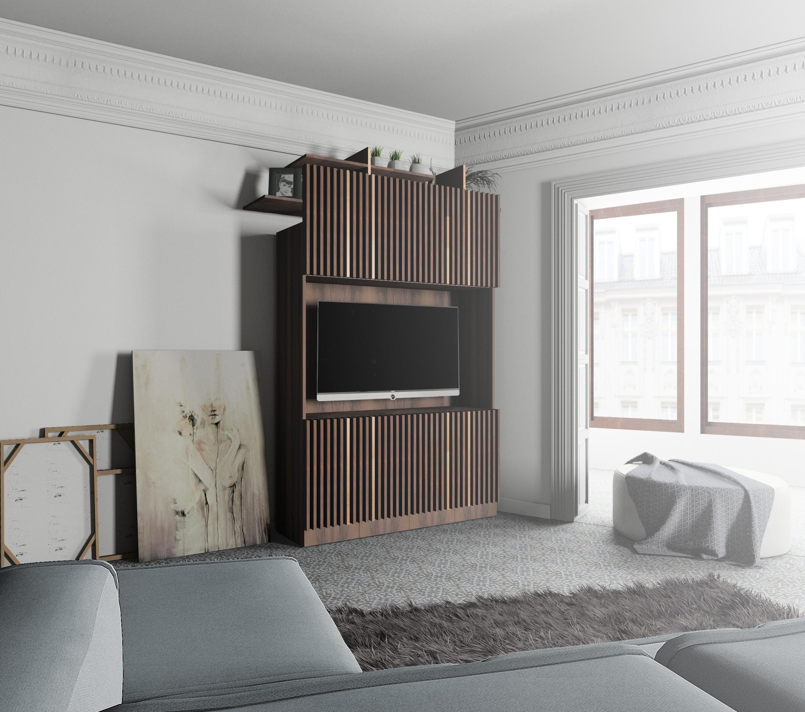 Diseño mueble TV