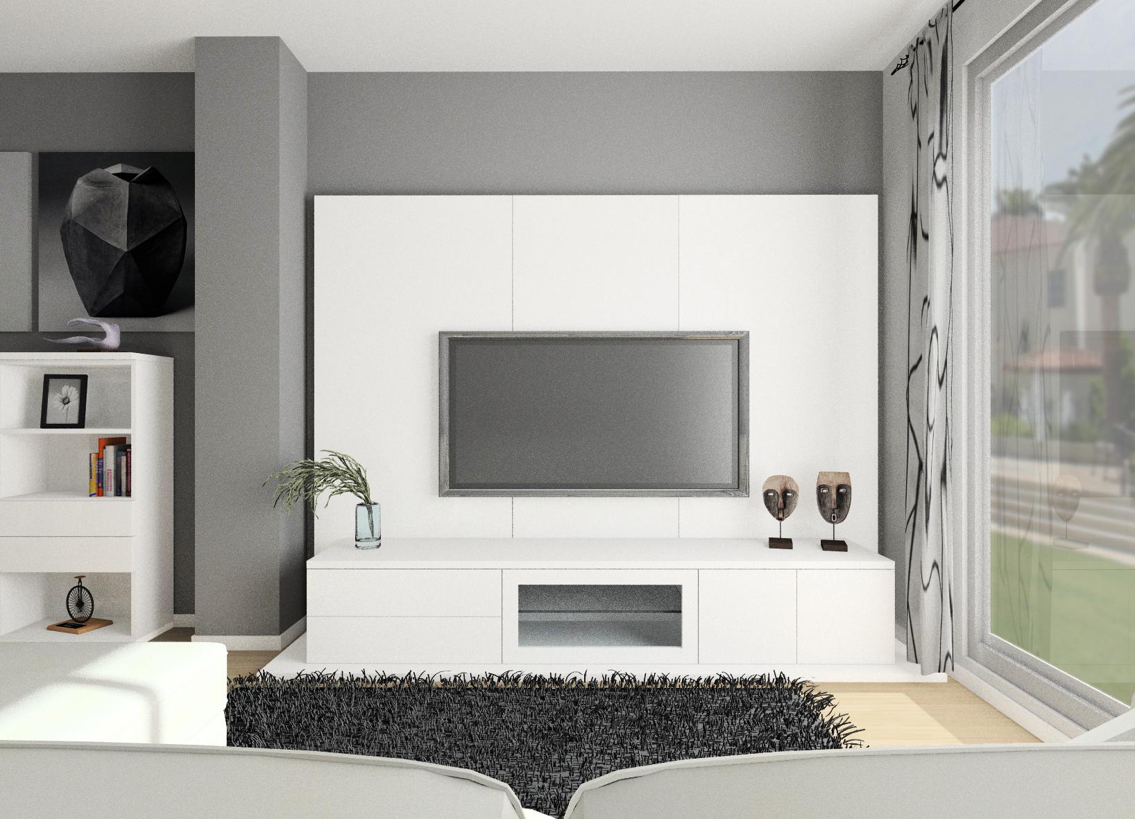 principal mobiliario salón