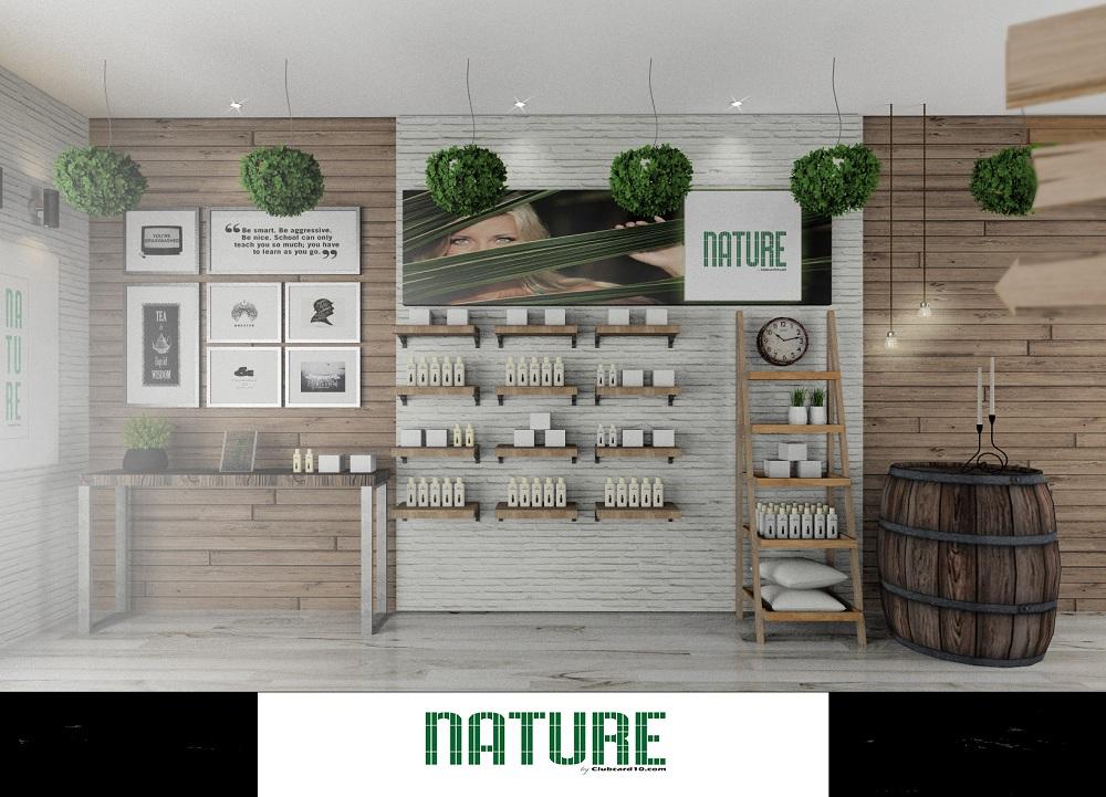 tienda nature vista frontal